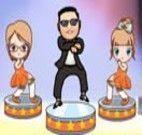 Apresentação de dança do Gangnam Style