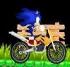 Andar de carro com Sonic no cenários de Halloween