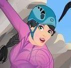 Barbie escalar montanhas