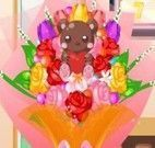 Decorar buquê de flores