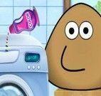 Pou roupas sujas para lavar