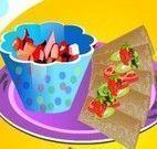 Fazer crepe integral com recheio de frutas