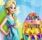 Fazer e decorar ovo da Páscoa Elsa