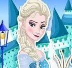 Lavar roupas da Elsa e Olaf