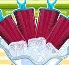 Receita de picolé de frutas vermelhas