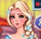Cuidar da Elsa no parto