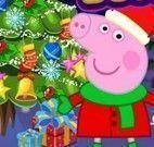 Decorar árvore de Natal da Peppa