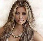 Kim Kardashian jogo da memória
