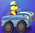 Minion aventuras de carro
