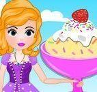 Sofia fazer sorvete