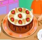 Fazer bolo brownie de chocolate