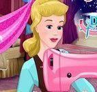 Cinderela costurar vestido de princesa