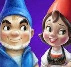Pintar desenho Gnomeu e Julieta