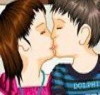 Beijo de criança