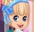 Cuidar dos dentes com Hello Kitty