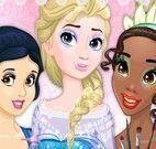 Barbie maquiagem das princesas