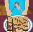 Bolo de chocolate com nozes