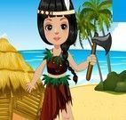 Boneca Nativa da América