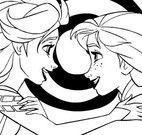 Elsa e Anna pintar