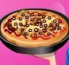 Fazer pizza de lombinho