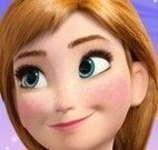 Anna Frozen unhas pintadas