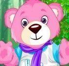Vestir roupas no urso