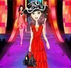 Roupas desfile de moda