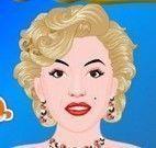 Marilyn Monroe no cabeleireiro