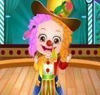 Bebê Hazel no circo