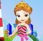 Princesa Sofia vestir roupas fashion