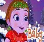 Anna Frozen bebê roupas