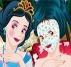 Branca de Neve limpeza de pele