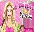 Cabeleireira da Barbie Real