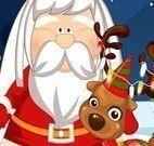 Cabelo e barba do Papai Noel