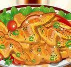 Receita de peito de frango empanado