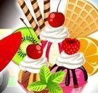 Fazer sorvete e decorar
