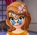 Máscara da Princesa Sofia