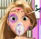 Cuidar da Rapunzel doente
