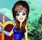 Vestir roupas na princesa