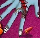 Manicure do halloween