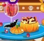 Preparar doces para Halloween