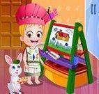 Colorir desenho com bebê Hazel