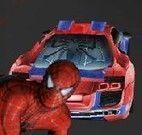 Corrida de carro do Homem Aranha