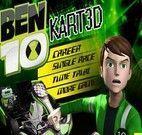 Corrida de kart 3D do Ben 10