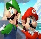 Corrida de moto do Mario e Luigi