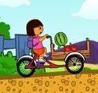 Dora entrega de frutas e verduras