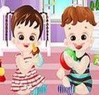 Vestir os bebezinhos