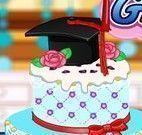 Decorar bolo de formatura da Anna