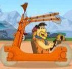 Flintstones aventuras de carro