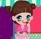 Vestir garota dos doces